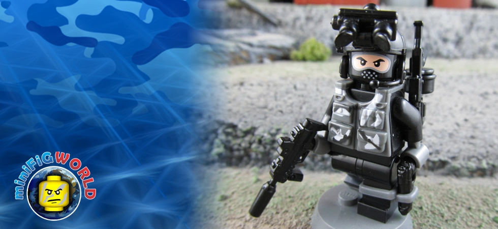 Minifigure, Navy Seal 2